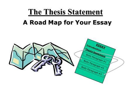 Simple definition of a thesis statement